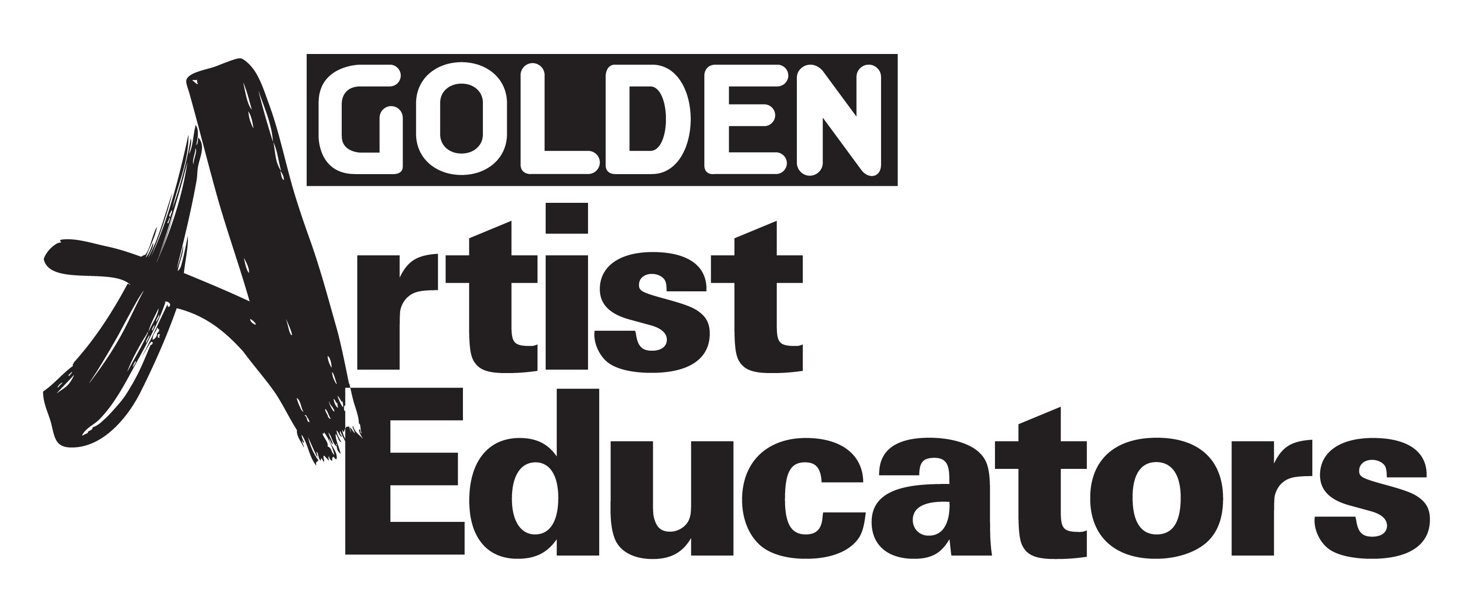Golden Artist Educators Logo K
